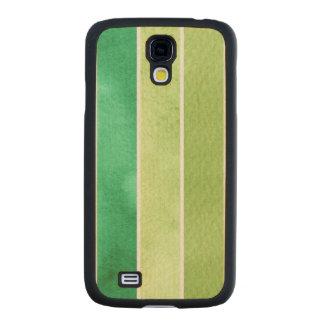 gran fondo verde de la acuarela - acuarela funda de galaxy s4 slim arce