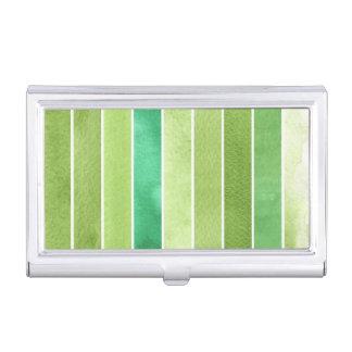 gran fondo verde de la acuarela - acuarela cajas de tarjetas de visita