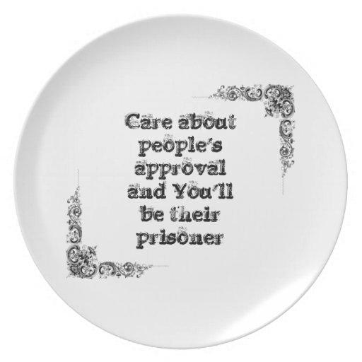 Gran frase simple fresca de tao de la filosofía de plato de comida