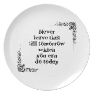 Gran frase simple fresca de tao de la filosofía de platos