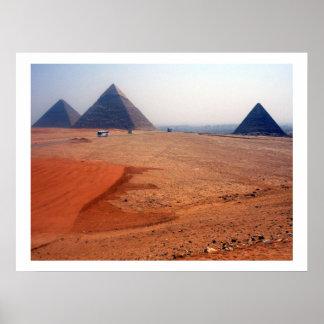gran frontera de las pirámides póster