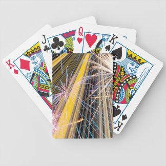 gran fuego artificial barajas de cartas