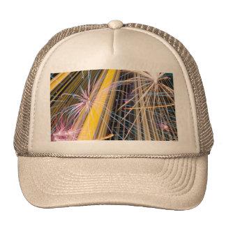 gran fuego artificial gorras de camionero