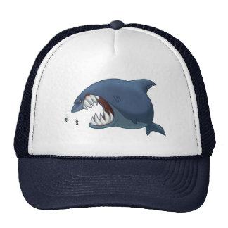 Gran gorra del tiburón blanco