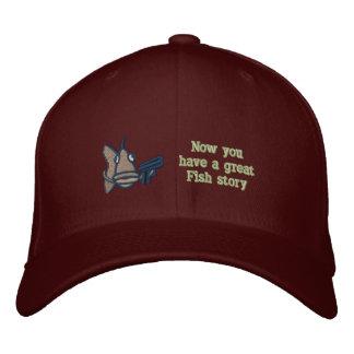 Gran historia de los pescados - gorra bordado gorra de beisbol