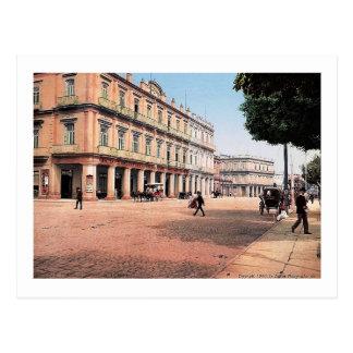 Gran Hotel Inglaterra, Habana, Havana Vintage Postcard