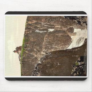 Gran hoyo de la nieve, visión parcial, Riesengebir Alfombrillas De Raton