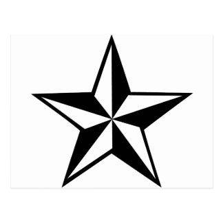 gran icono de la estrella tarjeta postal