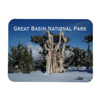 Gran imán del parque nacional del lavabo