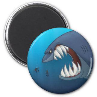 Gran imán del tiburón blanco