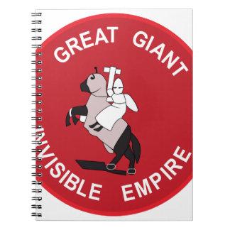 Gran imperio invisible gigante libros de apuntes