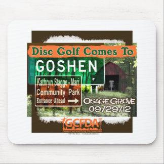 Gran inauguración del golf del disco de Goshen de  Tapetes De Ratón