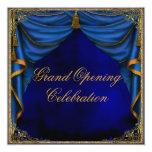 Gran inauguración del negocio corporativo del oro invitación 13,3 cm x 13,3cm