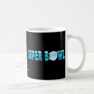Gran juego del fútbol taza de café