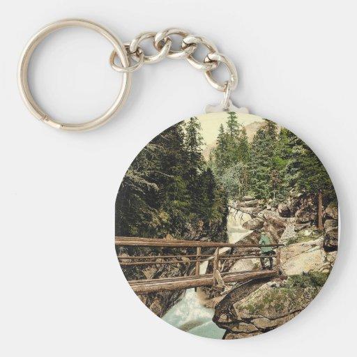 Gran Kohlbach, cascada superior, Tatra, Austro-Hun Llaveros Personalizados