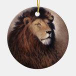 Gran león ornamentos para reyes magos