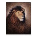 Gran león tarjetas postales