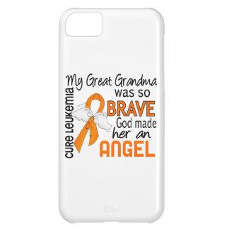 Gran leucemia de la abuela del ángel 2 funda para iPhone 5C