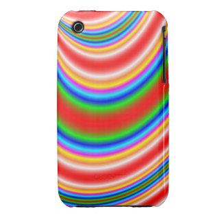 Gran línea colorida modelo Case-Mate iPhone 3 funda