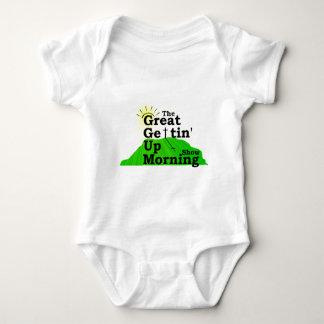 Gran mañana que se levanta body para bebé