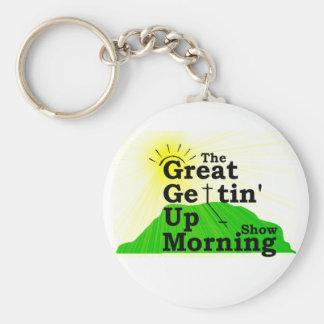 Gran mañana que se levanta llavero