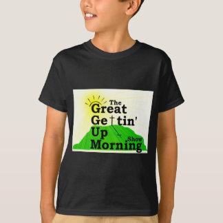 Gran mañana que se levanta playeras