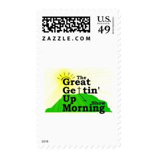 Gran mañana que se levanta sello