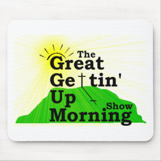 Gran mañana que se levanta tapetes de raton