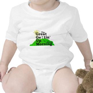 Gran mañana que se levanta trajes de bebé