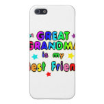 Gran mejor amigo de la abuela iPhone 5 protector