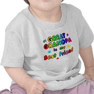 Gran mejor amigo del abuelo camisetas