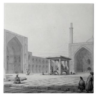 Gran mezquita de viernes (Masjid-i Djum-ah) en Isf Azulejo Cerámica