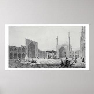 Gran mezquita de viernes (Masjid-i Djum-ah) en Isf Posters