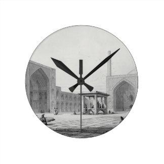 Gran mezquita de viernes (Masjid-i Djum-ah) en Isf Relojes