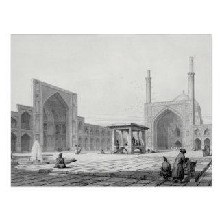 Gran mezquita de viernes (Masjid-i Djum-ah) en Postal
