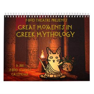 Gran momento en calendario de la mitología griega