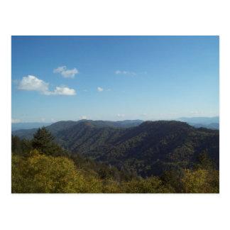 Gran montaña ahumada Vista 6 Postales