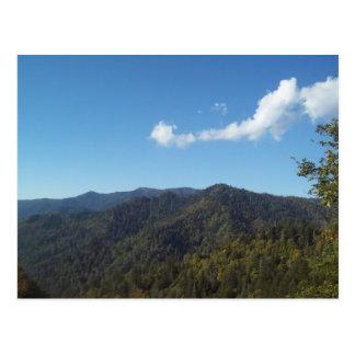 Gran montaña ahumada Vista 7 Postales