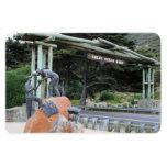 Gran monumento del camino del océano - imán