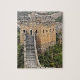 Gran Muralla de China en Jinshanling, China, Asia  Rompecabeza Con Fotos