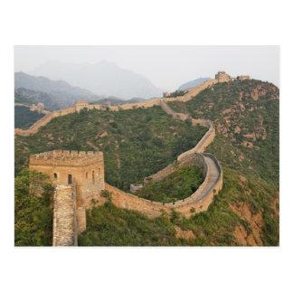Gran Muralla de China en Jinshanling, China, Asia Tarjetas Postales