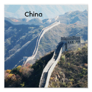 Gran Muralla de China Póster