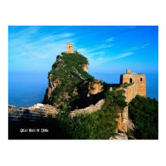 Gran Muralla de China Tarjetas Postales