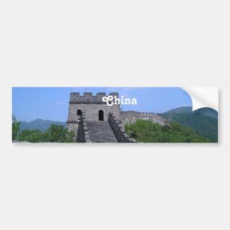 Gran Muralla en China Pegatina Para Auto