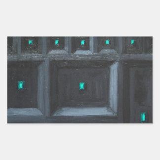 Gran Muralla gótica verdosa (surrealismo del Rectangular Altavoces