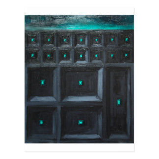 Gran Muralla gótica verdosa (surrealismo del Postal