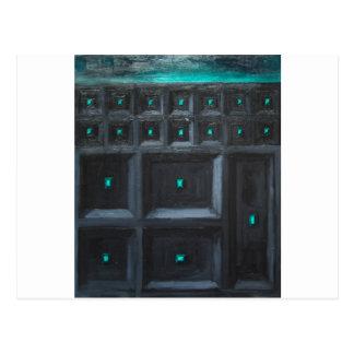 Gran Muralla gótica verdosa (surrealismo del Tarjetas Postales