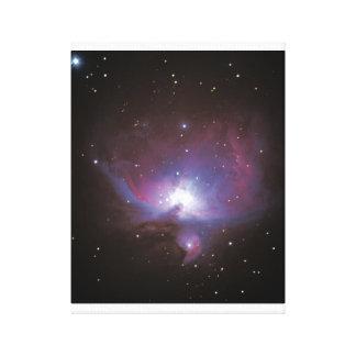 Gran nebulosa de Orión #7 Impresión En Lienzo