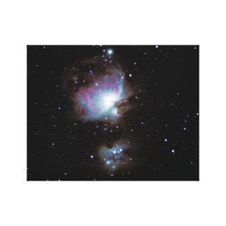 Gran nebulosa de Orión #9 Impresión En Lienzo