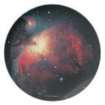Gran nebulosa de Orión Platos